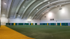 Existing conditions of the field house lights